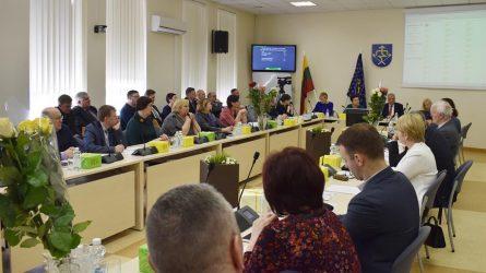 Savivaldybės taryba baigė kadenciją