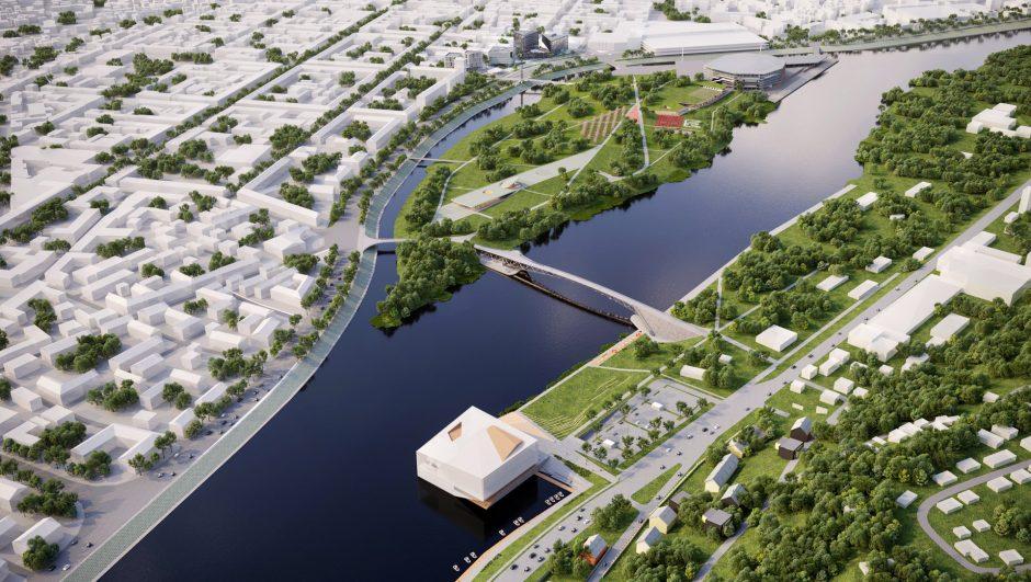 Kaunas pristatė, kaip atrodys naujasis miesto centras