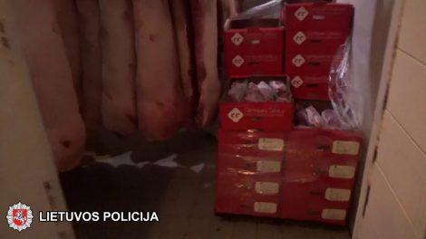 Suduotas rimtas smūgis šešėliniam prekybos mėsa verslui (video)