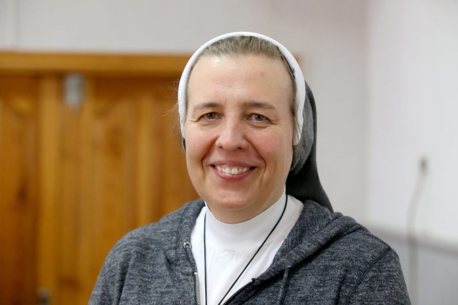 """Fausta Palaimaitė: Noriu kas rytą Dievui sakyti: """"Štai aš, siųsk mane"""""""