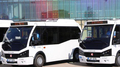 Šiaulių gatvėse naujiena – mažieji miesto autobusai