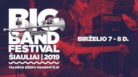 """10-ąjį gimtadienį tarptautinis festivalis """"Big Band Festival Šiauliai 2019"""" šiemet  švęs birželio mėnesį!"""