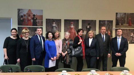 Sveikatos apsaugos ministerijos vizitas Kauno rajono mokyklose