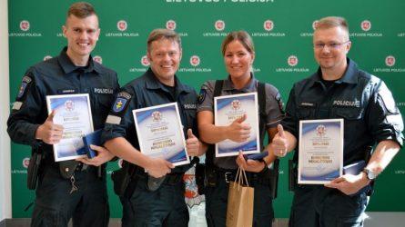 Paaiškėjo, kad geriausia policijos pareigūnų komanda dirba Šiaulių miesto ir rajono komisariate