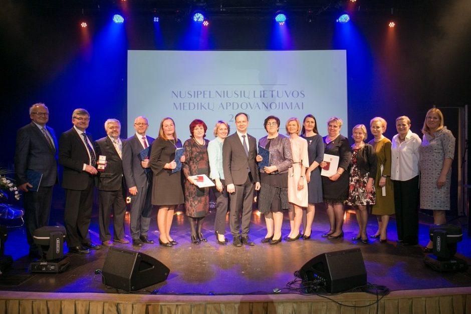 Lietuvos medikams – tradiciniai garbingi apdovanojimai