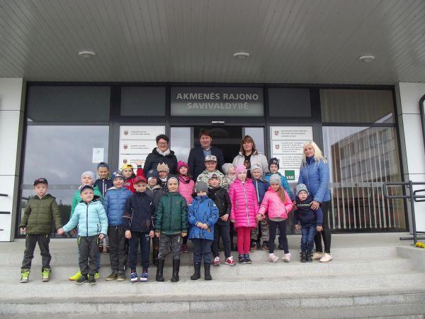 Svečiuose pas Akmenės rajono savivaldybės merą