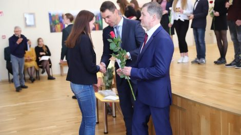 Pagerbti Kauno rajono mokyklų olimpiadų ir konkursų laimėtojai