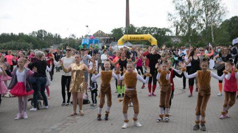 Aktyviai leisti laiką prie Talkšos kvietė Sporto festivalis