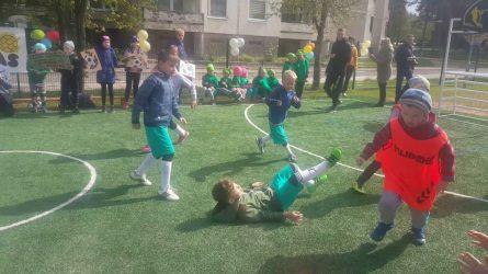 Futboliukas – tai jėga, mes jį žaisim visada
