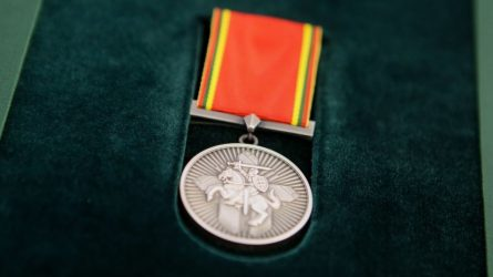 Mažeikių rajono gyventojai – apdovanojimas iš Prezidentės rankų
