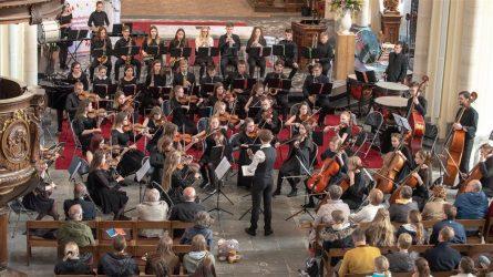 "Muzikos mokyklos simfoninis orkestras ""Svajonė"" – Europos muzikos festivalio laureatai"
