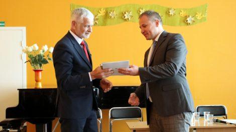 Gargžduose svečiavosi žemės ūkio ministras Giedrius Surplys