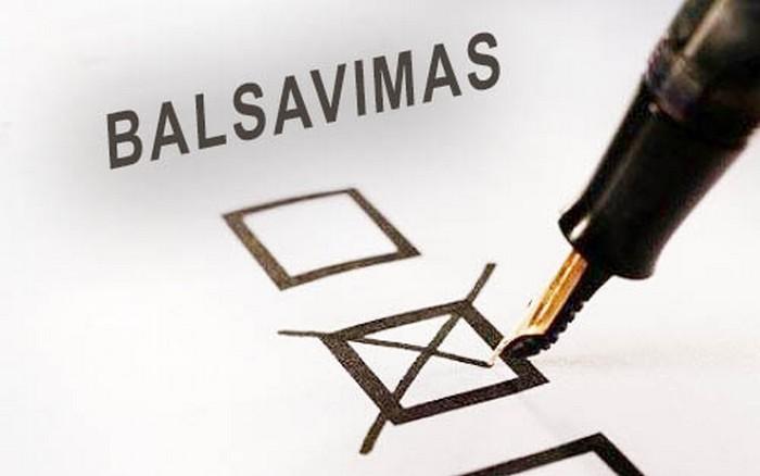 Antroji balsavimo iš anksto diena gegužės 26 d. rinkimuose