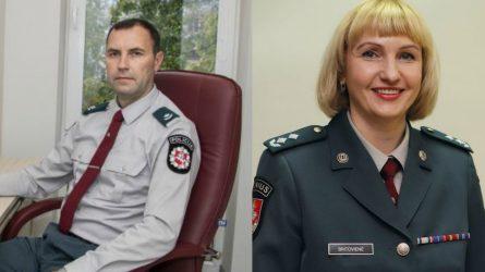 Išrinkti nauji Švenčionių ir Plungės r. policijos komisariatų vadovai