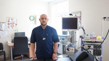 Onkologinei ligonei atliktas dvylikapirštės žarnos stentavimas