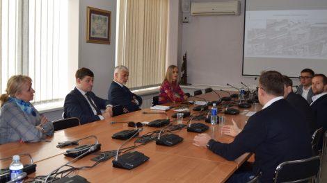 Savivaldybės vadovams pristatytas jau kitąmet iškilsiantis SBA technologijų ir inovacijų parkas