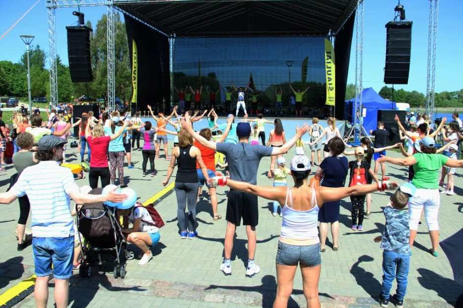Šeštadienį šiauliečius pakvies Sporto festivalis