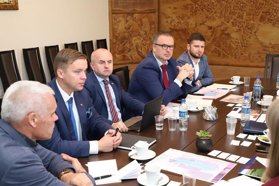 Šiaulių miesto investicinė aplinka sudomino Lenkijos verslininkus
