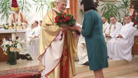 Klebonas Jonas Paulauskas kunigystei pasišventęs jau 40 metų