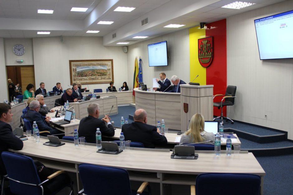 Suformuoti Savivaldybės tarybos komitetai
