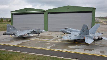 Šiauliuose prasideda 50-oji NATO oro policijos misijos pamaina