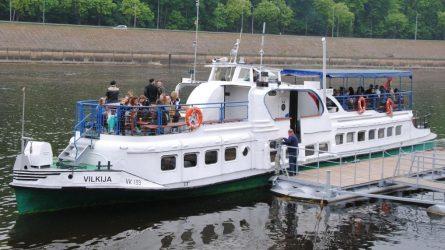 """Laivas """"Vilkija"""" pasiruošė pirmajam reisui"""