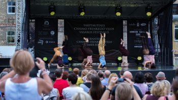 Šokio spektakliu prasidėjo XVI tarptautinis Chaimo Frenkelio vilos vasaros festivalis