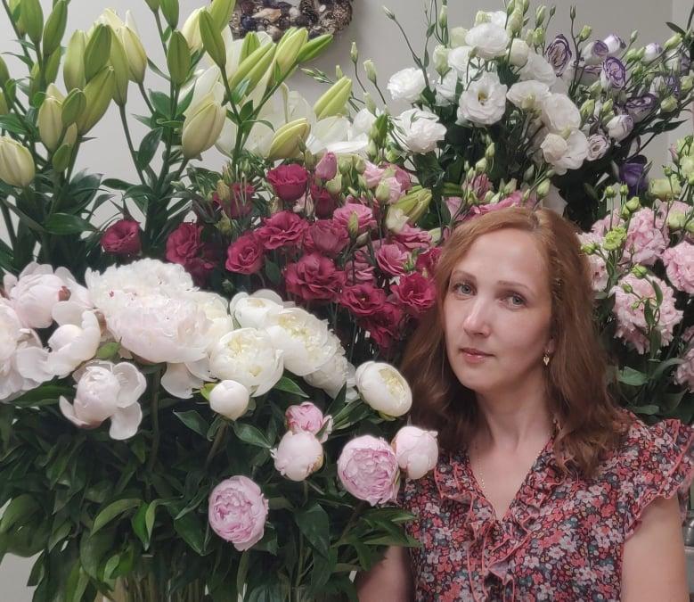 Aliona Ušanovienė: Vaikystėje užgimusi meilė gėlėms tapo įkvėpimu kitiems