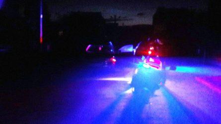 Neblaivaus automobilio vairuotojo gaudynės jam baigėsi nesėkmingai
