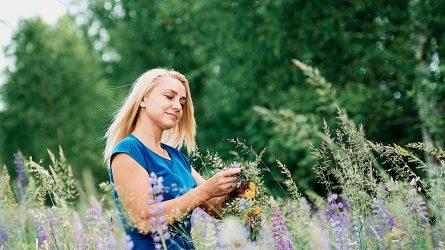 Jurgita Norbutienė: Profesionali floristė tikinti Joninių stebuklu