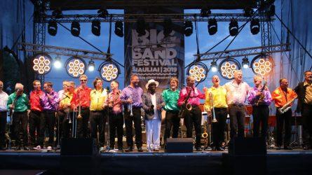 """Šiauliuose pasibaigė tarptautinis festivalis """"Big Band Festival Šiauliai 2019"""""""