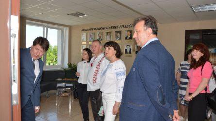 Savivaldybėje viešėjo tarptautinio projekto dalyviai