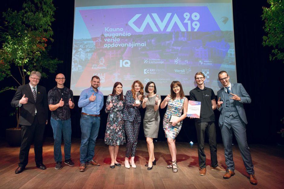 """Kaune augantiems verslams – """"K.A.V.A. 2019"""" apdovanojimai"""