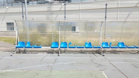Sporto aikštelė vilioja ne tik sportuojančius