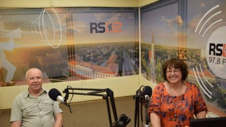 RS2 DIENOS SVEČIAS: Romualdas Sabaliauskas ir Natalija Borgerdt