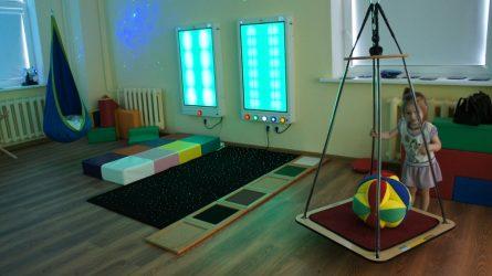 Sutrikusios sensorikos vaikams - multisensorinis kambarys