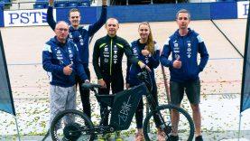 Panevėžyje elektriniu dviračiu pasiektas pasaulio rekordas