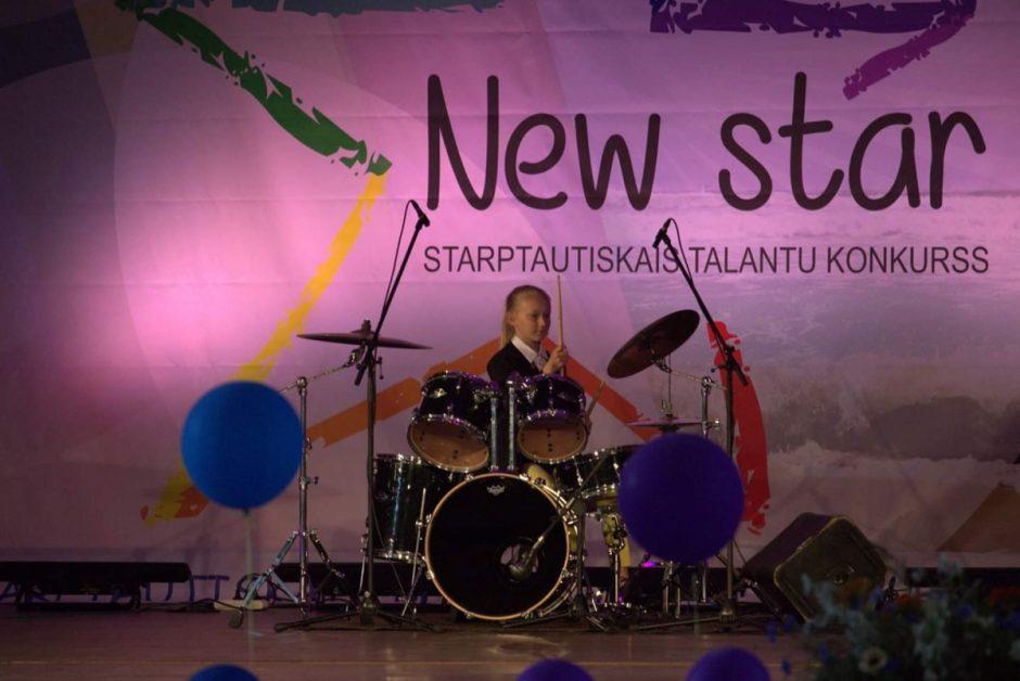 """Festivalyje """"Rudaga New STAR"""" pirmoji vieta"""