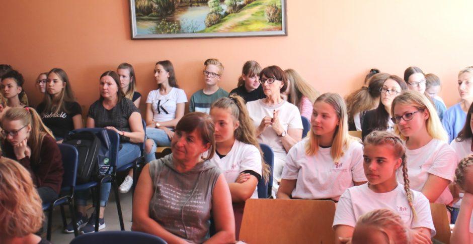 Jaunieji sveikos gyvensenos puoselėtojai dalijosi patarimais