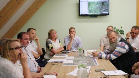 Savivaldybės vadovai susitiko su Karklės bendruomenės atstovais