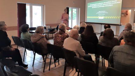 Sigutėnų kaimo bendruomenė domėjosi privalomojo sveikatos draudimo teikiamomis garantijomis