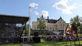 """Kvarteto """"Klezjazz"""" iš Vokietijos muzika džiugino vasaros festivalio žiūrovus"""