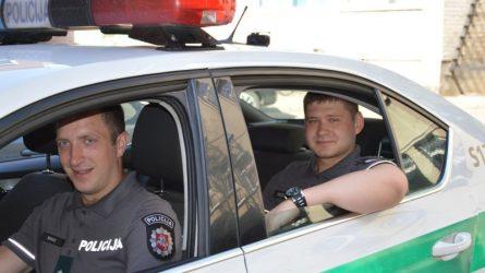 Didžiulį stresą patyrusi moteris dėkinga jos neįgalų vyrą suradusiems pareigūnams