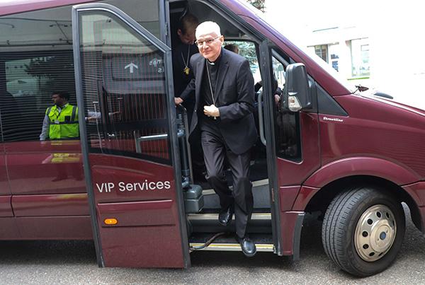 Į Lietuvą atvyko naujasis apaštalinis nuncijus arkivyskupas Petar Rajič