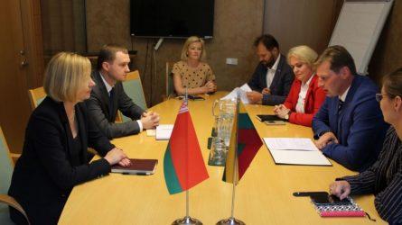 Apie pavojingai nusekusią Nerį – su Baltarusijos atstovais