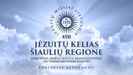 Sukanka 450 metų, kai Lietuvoje įsikūrė Jėzaus draugija – jėzuitai