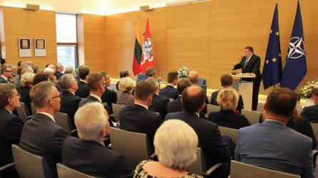 L. Linkevičius: Diplomatinės tarnybos mobilizacijos reikalaujantys iššūkiai Lietuvai išlieka