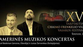 Chaimo Frenkelio vilos vasaros festivalis – pirmą kartą Telšiuose