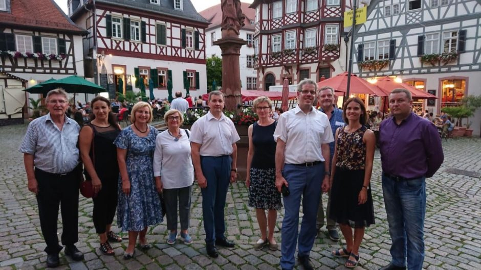 Kauno rajono delegacijos vizitas Vokietijoje