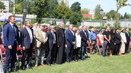 Paminėtos 75-osios Šiaulių geto likvidavimo metinės
